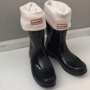 Hunter - Short, Glossy original rain boot
